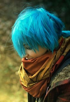 I want blue hair... is that so wrong?