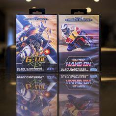 Sega Mega Drive G-Loc & Super Hang-On #Sega #SegaMegaDrive #MegaDrive #SegaGenesis #GLoc #SuperHangOn #RetroGames #RetroGaming #stopXwhispering
