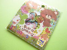 Kawaii Cute Sticker Flakes Sack Bear is Looking Crux (75384)