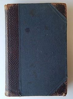 Antique Medical Book Treatment of The Sick Leather Binding Waugh 2nd Ed 1899 | eBay