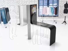 In-Store Online Shopping: Intel Point-of-Sale Kiosk Skips Sales Personnel But Not Fitting Rooms