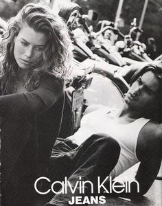 Carre Otis, 1991 Calvin Klein campaign