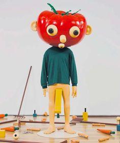 "Paul McCarthy ""Tomato Head (Green)"" (1994)"