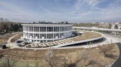 Gebaute Normalität  - Auer Weber erweitern Uni-Bibliothek in Lille