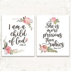 Bohemian Nursery Set of Two
