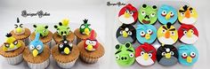 2 of the greatest things on this Earth (well maybe thats an exaggeration) - Angry Birds and Cupcakes. If your kiddos are obsessed with those squawking birds and naughty pigs as much as mine are - these would make the perfect treat!  Check out these fabulous 5 Angry Birds Cupcakes to SQUAWK at!