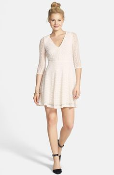 Lush Lace Skater Dress available at #Nordstrom