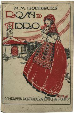 Rosa do Adro, M. M. Rodrigues, Companhia Portugueza Editora, design Jorge Barradas, 192_