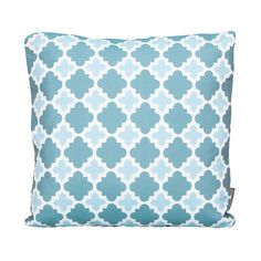 Outdoor Scatter Cushion 50cm x 50cm - Blue Stone