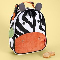 Kids Lunch Bags: Skip Hop Striped Zebra Lunch Bag in All Sale Items