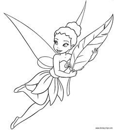 Image Was Taken From A Disney Fairies Activity Book
