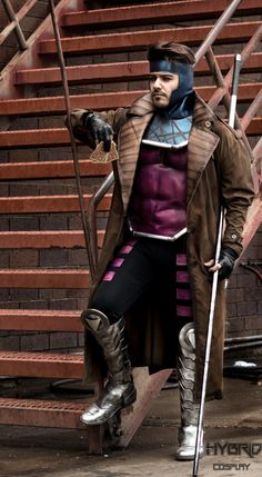 Excellent Gambit Cosplay « Adafruit Industries – Makers, hackers, artists, designers and engineers! Gambit Cosplay, Rogue Cosplay, Male Cosplay, Casual Cosplay, Cosplay Outfits, Best Cosplay, Cosplay Girls, Awesome Cosplay, Cosplay Ideas