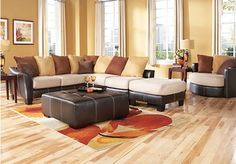 Suttons Bay 4 Pc Sectional Living Room - Living Room Sets