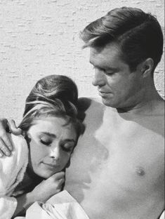 Audrey Hepburn and George Peppard-Breakfast at Tiffany's