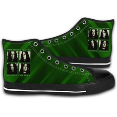 Canvas Type O Negative Gothic Metal Band Music Fashion Shoes #handmade #shoescasual