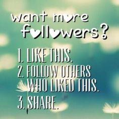like, follow, share ‼️ gain followers ❗️ Other