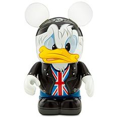 Love England, rock and Donald Duck - never thought I'd see all 3 put together so well...