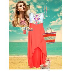 """""""Tribal Beach Outfit"""" by adenny on Polyvore"""