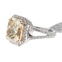 Yellow Diamond...bit excessive on the size, but the style is spot on