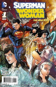 DC Comics - Superman Wonder Woman (2013) #1