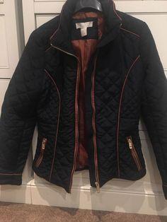 BNWT Next Girls Lemon Print Shower Resistant Hooded Jacket