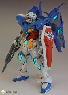 GUNDAM GUY: HG 1/144 Gundam G-Self + Space Equipment Option Part - Customized Build
