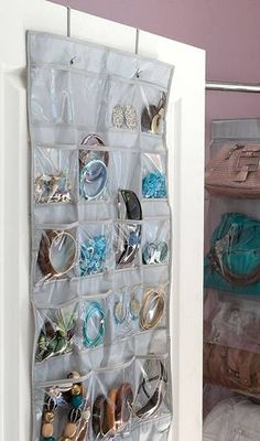 Howards Storage World - Jewellery Organiser 22 Pocket