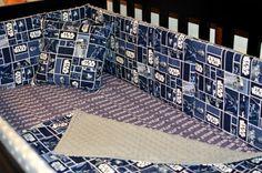 CUSTOM Baby Bedding - 3 Piece Crib Bedding Set - Star Wars, Whovian, Firefly, Pirate, Rock, Kawaii & More - Geek Baby Nursery - Handmade