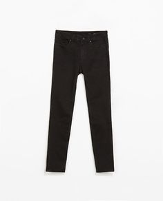 cropped skinny jeans from ZARA
