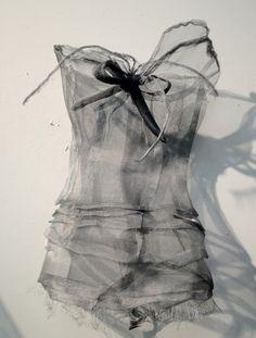 Aluminum Mesh Garments by Amy Jean Boebel
