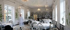 Our restaurant is located in one of Copenhagen's most beautiful settings, The Royal Danish Horticultural Gardens, which date back to We let the garden do the decorating. Copenhagen Style, Rest Of The World, The Outsiders, Restaurant, Table Decorations, Space, Furniture, Beautiful, Home Decor