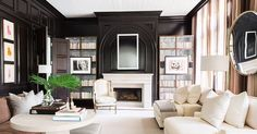 A home library is the ultimate classic touch, adding a chic scholarly appeal to any home.