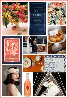More reception inspiration: luxurious 1930s ocean liners (Martha Stewart)