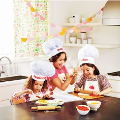 Tempt kids' taste buds with a hands-on chef-themed party that's sure to delight.