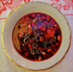 Holodnik- Chilled Russian beetroot soup