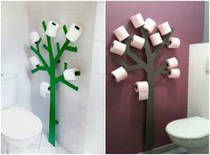 Toilet Paper Tree Holder!