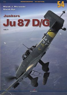 Kagero Junkers Ju 87 D/G Book Review by Brad Fallen
