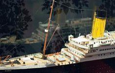 Maqueta del Titanic Titanic Model, Riddles, Titanic Sinking