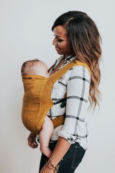Happy Baby Carrier in Grey Stone