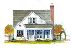 Cherry hill plan: 34x38, 2 story, master on lower level