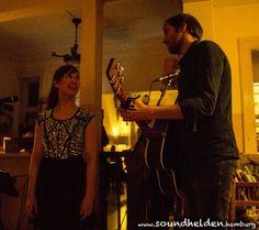 Liza & Kay im Mathilde Literatur Café