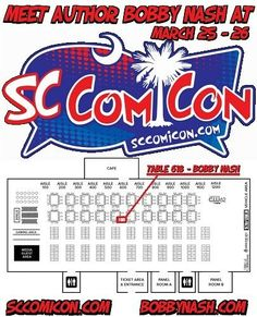 Next weekend, I return to the spectacular SC Comicon in Greenville, SC. This is a great show with the major focus being on comic books and those who create them. This is a great venue for getting original art and sketches, some cool books, and a chance to meet some very creative people. What's not to love?  SC Comicon runs March 25 - 26, 2017 at the TD Convention Center in Greenville, SC. Get all the information on this event at http://sccomicon.com and www.facebook.com/SCComicon