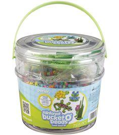Perler Bucket O' Beads Fun Fusion Fuse Bead Kit - Rainforest