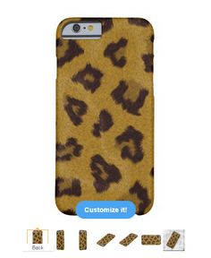 Leopard Fur Iphone 6 Case - also available for Samsung and Motorola.  #leopard #fur #iphone6 #case #iphone6case