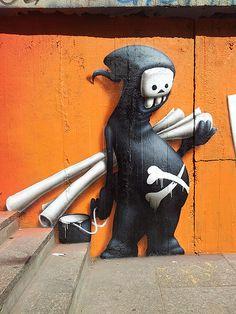 Street Art Festival Bratislava, 2012 - 'CART1'  #cart1 - More #streetart at www.Streetart.nl ♥≻★≺♥