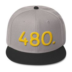 08fe0117c4131 Arizona 480 Area Code - Wool Blend Snapback Hat