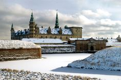 Kronborg is a castle and Stronghold in the town of Helsingør, Denmark. Immortalized as Elsinore in William Shakespeare's play Hamlet, Kronborg is one of the most important Renaissance castles in Northern Europe and has been added to UNESCO's World Heritage Sites list (2000). Photo: Thomas Rahbek.
