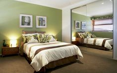 Laguna Bedroom 1, New Home Designs - Metricon