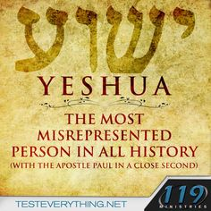 119 Ministries ~ Test Everything #Yeshua #Messiah #Jewish