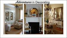 pretty and classic decor. So warm and inviting